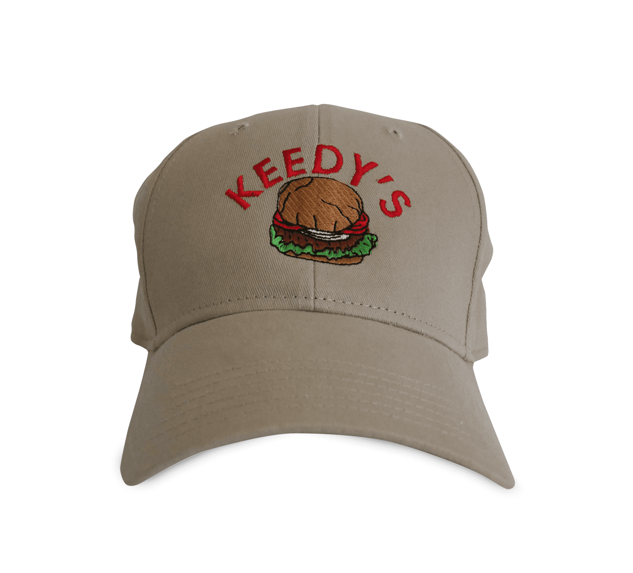 hat transparent brown